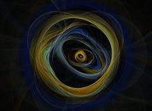 Abstrakter Fractal-Hintergrund Stockbilder