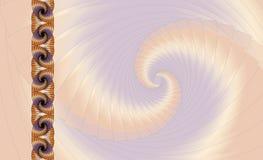 Abstrakter Fractalhintergrund Stockbild