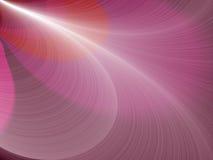 Abstrakter Fractalrosahintergrund lizenzfreie abbildung