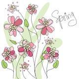 Abstrakter Frühlingshintergrund Lizenzfreie Stockfotografie