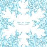 Abstrakter Frost des Vektors wirbelt Beschaffenheit Weihnachten Stockbilder