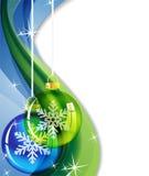 Abstrakter funkelnder Weihnachtshintergrund Stockfotos