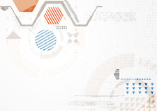 Abstrakter futuristischer Geschäftshintergrund Lizenzfreies Stockbild