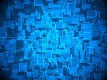 Abstrakter futuristischer Hintergrund Stockbild