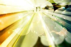 Abstrakter futuristischer Hintergrund Stockfotos