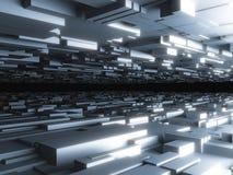 Abstrakter futuristischer Hintergrund Lizenzfreie Stockfotografie