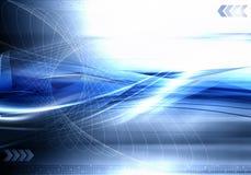 Abstrakter futuristischer Technologiehintergrund stock abbildung