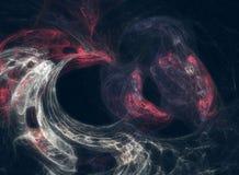 Abstrakter Galaxienebelfleck Stockfoto