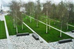 Abstrakter Garten Stockbilder