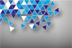Abstrakter gebrochenes Mosaik des Vektors Hintergrund Stockfotos
