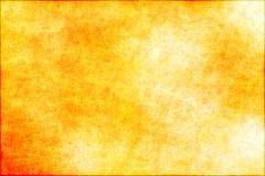 Abstrakter gelber grunge Hintergrund Stockfoto