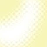 Abstrakter gelber Halbtonvektorhintergrund Lizenzfreie Stockfotos