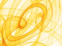 Abstrakter gelber Hintergrund Lizenzfreies Stockfoto