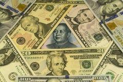 Abstrakter Geldhintergrund Stockfotografie
