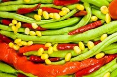 Abstrakter Gemüsehintergrund. lizenzfreie stockbilder