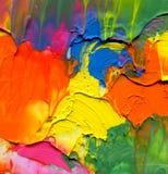 Abstrakter gemalter Acrylhintergrund Lizenzfreies Stockfoto