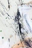 Abstrakter gemalter Acrylhintergrund Stockfotos