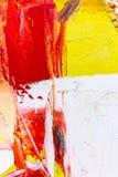 Abstrakter gemalter Acrylhintergrund Stockfoto