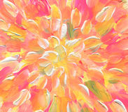 Abstrakter gemalter Acrylhintergrund Stockbilder