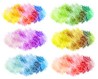 Abstrakter gemalter Hintergrund des Öls Pastell Lizenzfreie Stockbilder