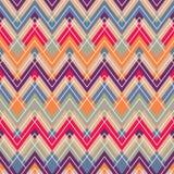 Abstrakter geometrischer bunter Musterhintergrund Stockfotografie