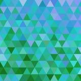 Abstrakter geometrischer Dreieckhintergrund stock abbildung