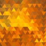Abstrakter geometrischer Dreieckhintergrund Stockbilder