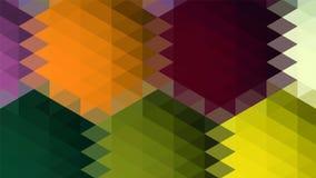 Abstrakter geometrischer Dreieckhintergrund, Kunst, künstlerisch, hell, bunt, Entwurf Muster für Geschäftsanzeige, Broschüren, Br lizenzfreie abbildung