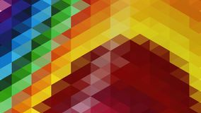Abstrakter geometrischer Dreieckhintergrund, Kunst, künstlerisch, hell, bunt, Entwurf Muster für Geschäftsanzeige, Broschüren, Br stock abbildung