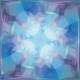 Abstrakter geometrischer dreieckiger Hintergrund Stockfotografie