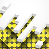 Abstrakter geometrischer Entwurf Lizenzfreies Stockbild