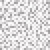 Abstrakter geometrischer grauer und weißer Musterhintergrund mit Masche O Stockbilder
