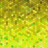 Abstrakter geometrischer Hexagon-Hintergrund Stockfoto