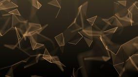 Abstrakter geometrischer Hintergrund stock footage