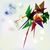 Abstrakter geometrischer Hintergrund. Lizenzfreies Stockfoto
