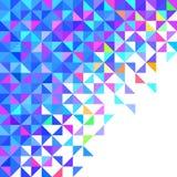 Abstrakter geometrischer Hintergrund Lizenzfreie Stockfotos