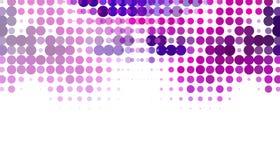 Abstrakter geometrischer Hintergrund auf überraschender Vektorillustration des weißen Hintergrundes stock abbildung