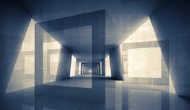 Abstrakter geometrischer Hintergrund 3D Lizenzfreie Stockbilder