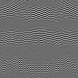 Abstrakter geometrischer Hintergrund 3d Muster mit optischer Illusion lizenzfreie abbildung