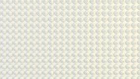 Abstrakter geometrischer Hintergrund der nach dem Zufall verdrängten Reihe Kegel stockbild