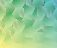 Abstrakter geometrischer Hintergrund des Vektors Stockfoto