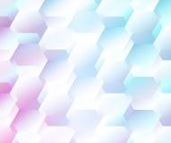 Abstrakter geometrischer Hintergrund des Vektors Stockfotografie