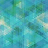 Abstrakter geometrischer Hintergrund für Geschäft oder Darstellung Lizenzfreies Stockbild