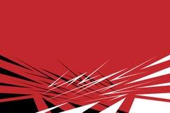 Abstrakter geometrischer Hintergrund im Retrostil Lizenzfreies Stockbild