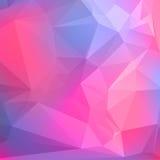 Abstrakter geometrischer Hintergrund mit Polygonen. Lizenzfreie Abbildung