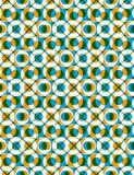 Abstrakter geometrischer Hintergrund, nahtloses Muster, Vektor backgrou lizenzfreie abbildung