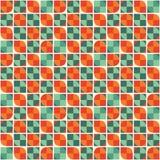 Abstrakter geometrischer Hintergrund - nahtloses Vektor-Muster Lizenzfreie Stockfotografie