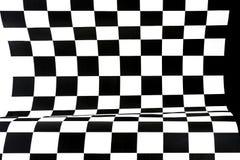 Abstrakter geometrischer Hintergrund von den Schwarzweiss-Zahlen Lizenzfreies Stockbild