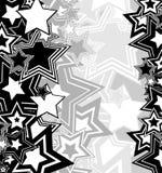 Abstrakter geometrischer Hintergrund von den Sternen Stockfotografie