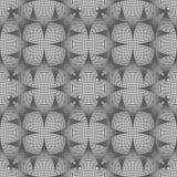 Abstrakter geometrischer Hintergrund von schneidenen Kurven Lizenzfreies Stockbild
